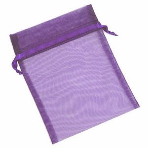 Organza Sheer Nylon Mesh Bag w/ Satin Ribbon (5