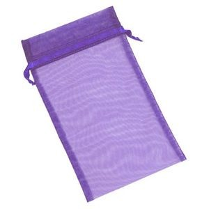 Organza Sheer Nylon Mesh Bag w/ Satin Ribbon (6